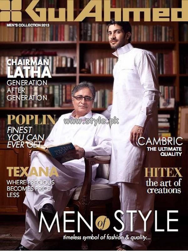 Gul Ahmed Kurta Shalwar For Men 2013 001