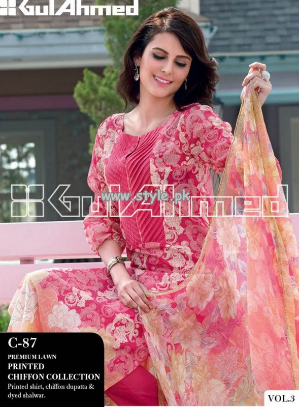 Gul Ahmed Lawn Collection For Summer 2013 007