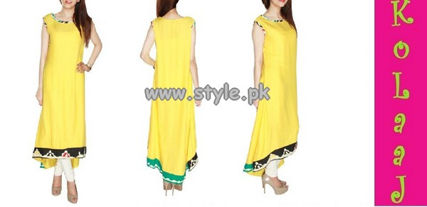 Kolaj Spring Basant Collection 2013 For Girls 005