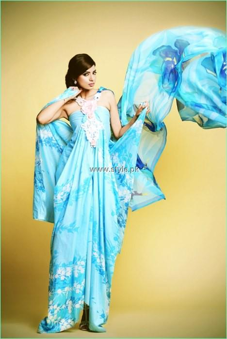 Kuki Concepts Lawn 2013 by Dawood Textile for Women