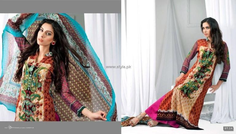 Libas Embroidered Lawn Collection 2013 by Shariq Textiles