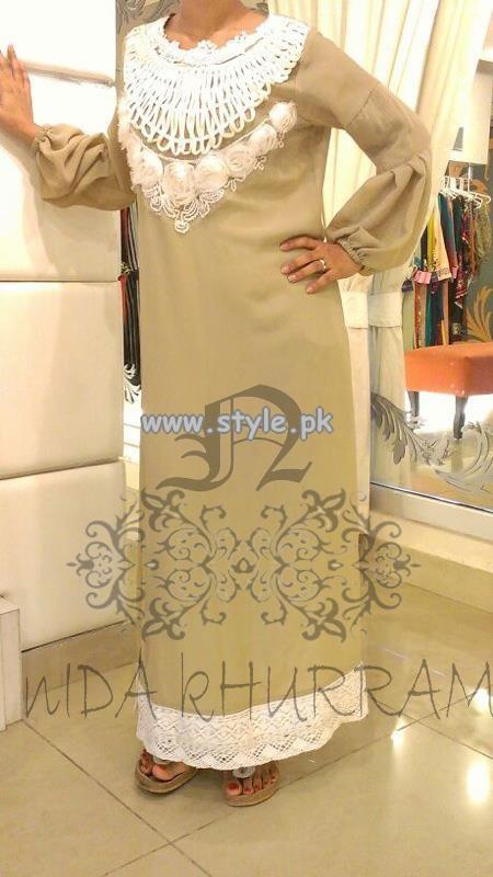 Nida Khurram Pret Party Wear Collection 2013 002