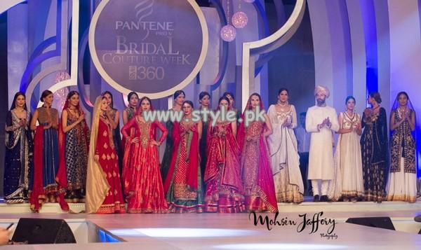 Zaheer Abbas Showcased At Pantene Bridal Couture Week 2013 008