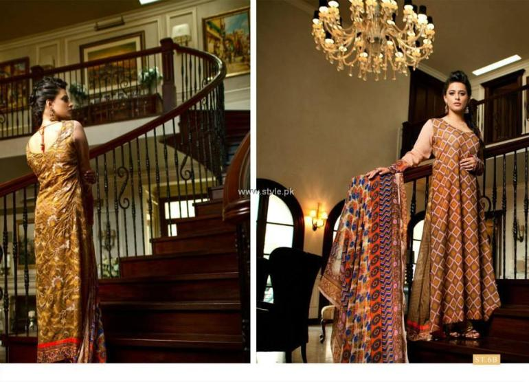 Bella Lawn 2013 Dresses by Shariq Textiles