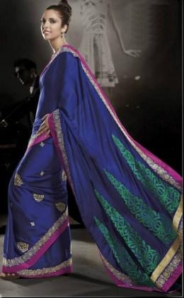 Nakshatra Designerwear Summer Saree Collection 2013 For Women 002