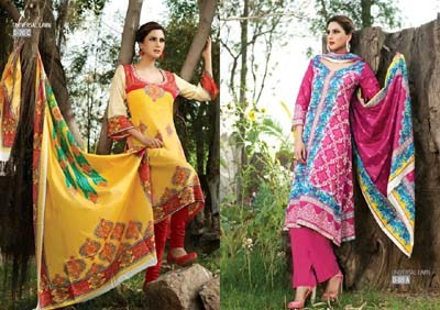 Sitara Textiles Universal Latha Collection 2013 Volume 2 For Women 0016