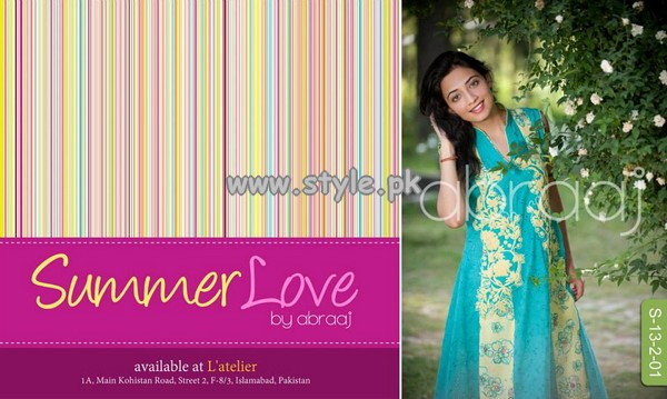 Abraaj Summer Love Collection 2013 For Girls 010