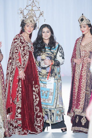 Sara Rohale Asghar Bridal Wear Collection At Pakistan Fashion Week London 2013 0010