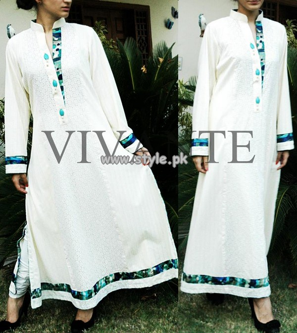 Vivante Women Pakistani Girls Clothes 2013 For Summer 010