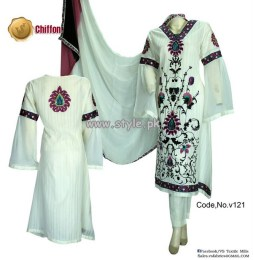 Vs Textile Mills Summer Collection 2013 For Girls 001