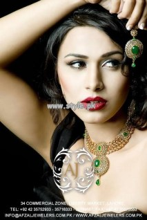 Afzal Jewelers Necklace Designs 2013 For Wedding 006