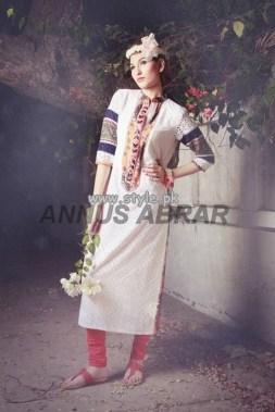 Annus Abrar Eid Collection 2013 For Girls 002