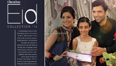 Chen One Eid Collection 2013 for Men, Women and Kids
