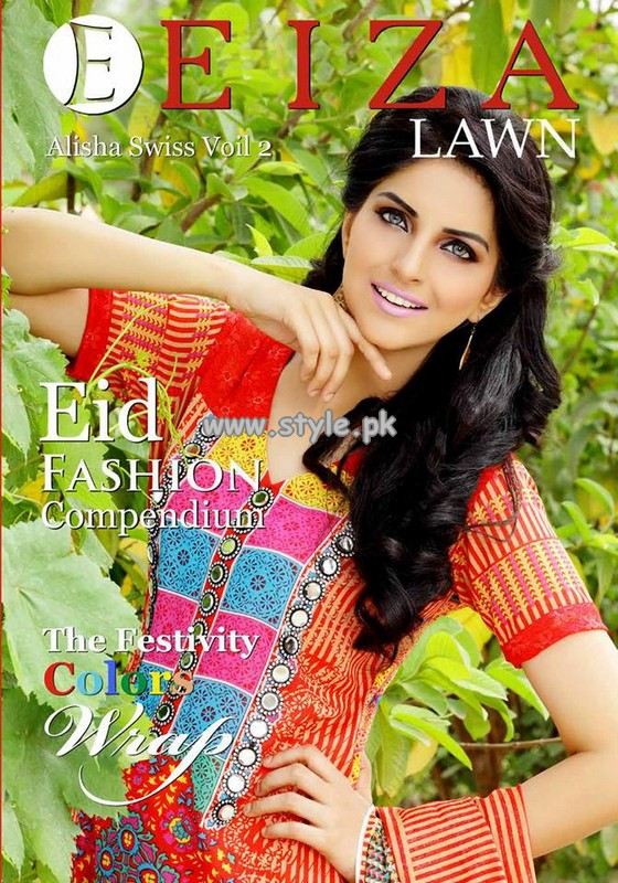 Eiza Eid Lawn Collection 2013 by UA Textiles 005