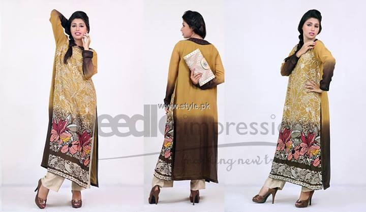 Needle Impressions Premium Eid Dresses 2013