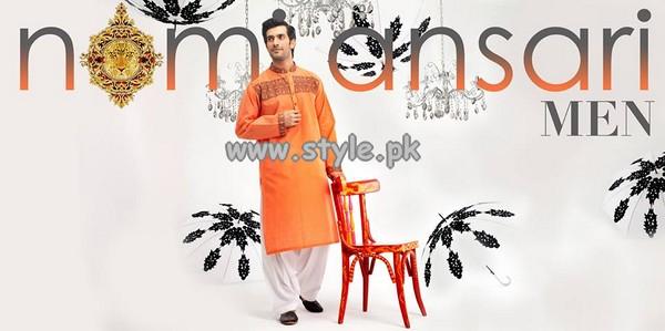 Nomi Ansari Menswear Collection 2013 For Eid-Ul-Fitr 004