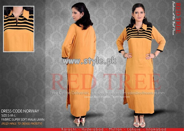 Red Tree Eid Collection 2013 For Girls 003