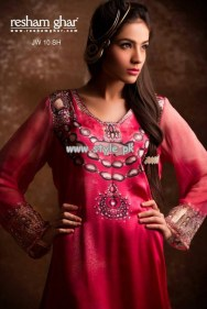 Resham Ghar Eid Collection 2013 For Women 011
