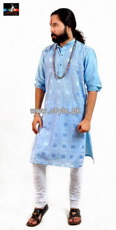Satrangi by Saqib Menswear Collection 2013 For Eid 004