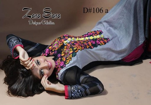 Zara Sara Collection 2013 by Dawood Lawns 007
