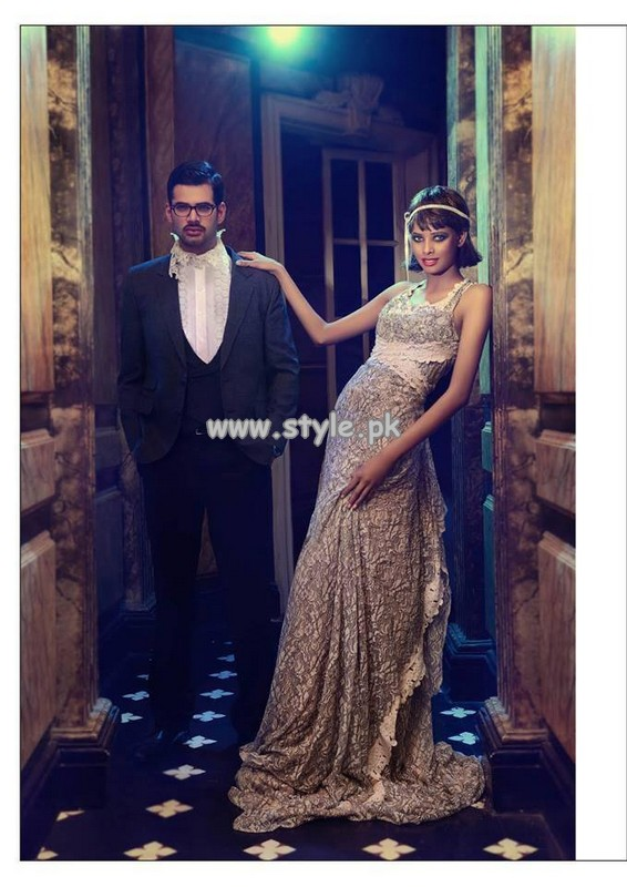 Ammar Shahid Party Dresses 2013 For Men And Women 006