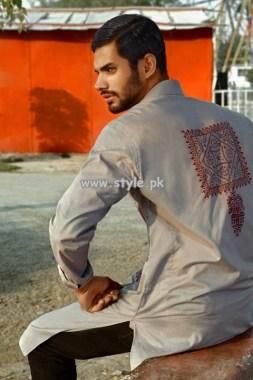 Arsalan Iqbal Kurta Shalwar Designs 2013 For Boys 001