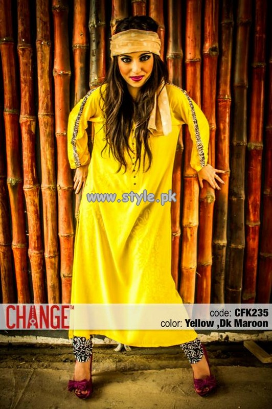 Change Mid Summer Collection 2013 For Women 006