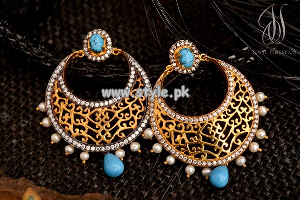 Jewel Sensation Earring Collection 2013 For Eid 002