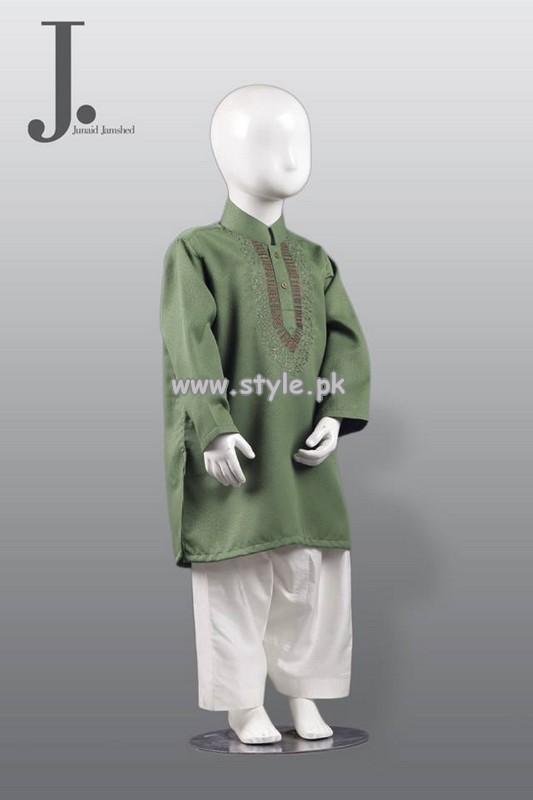 Junaid Jamshed Kurta Shalwar Designs 2013 For Boys 004