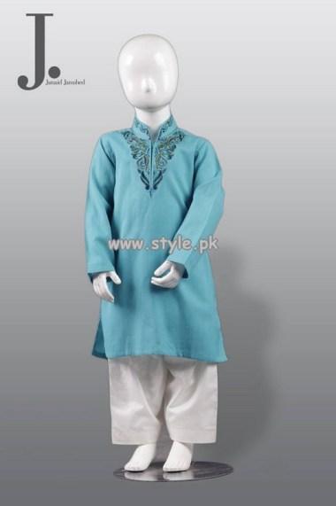 Junaid Jamshed Kurta Shalwar Designs 2013 For Kids 006