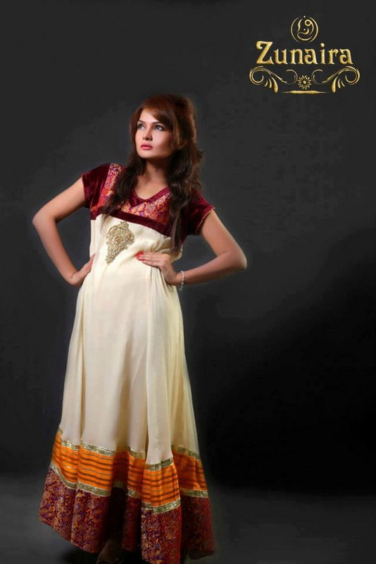Zunaira Lounge Party Wear Collection 2013 For Women 0010