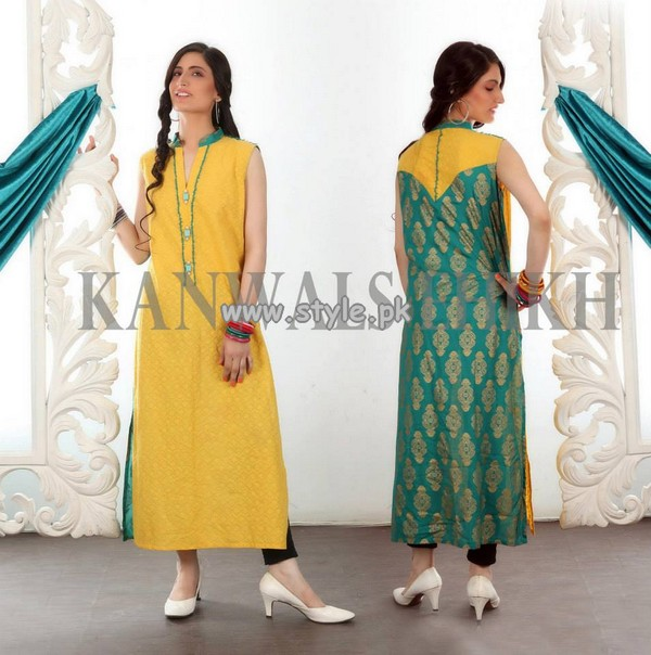 Kanwal Sheikh Party Wear Collection 2013 For Girls 001