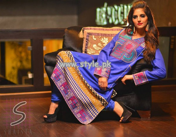 Naqash by Shaista Cloth Eid Collection 2013 For Women 005