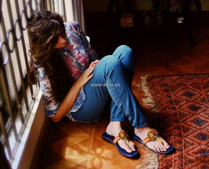 Purple Patch Sandal Collection 2013 for Women