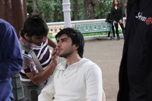 Imran Abbas On the Set Of Creature 07