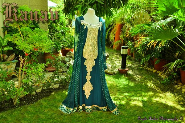 Kanav By Suman Ali Party Wear Collection 2013 For Women 0012