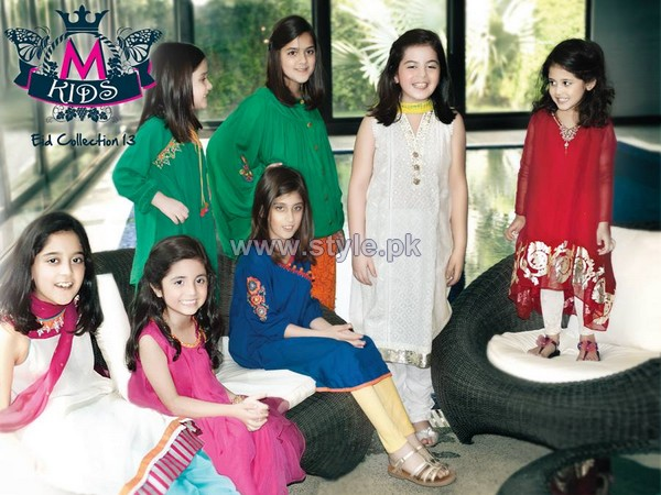 Maria B Party Wear Collection 2013 For Kids3