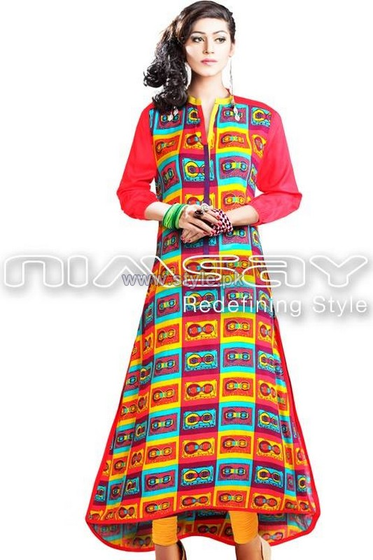 Nimsay Ready to Wear Dresses 2013 For Women7