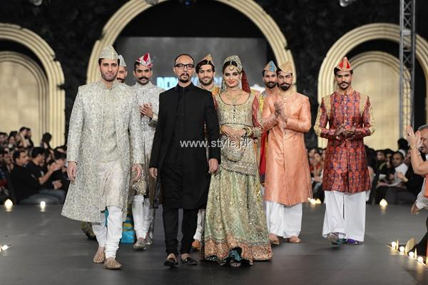 Nomi Ansari Bridal Dresses 2013 at PFDC L'Oreal Paris Bridal Week