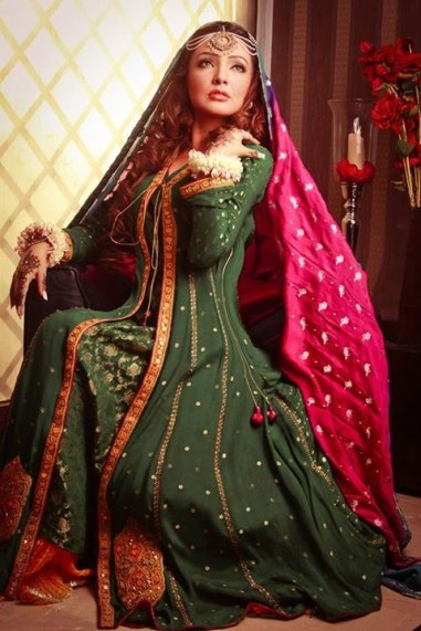 Resham Revaj Bridal Dresses 2013 for Women 004