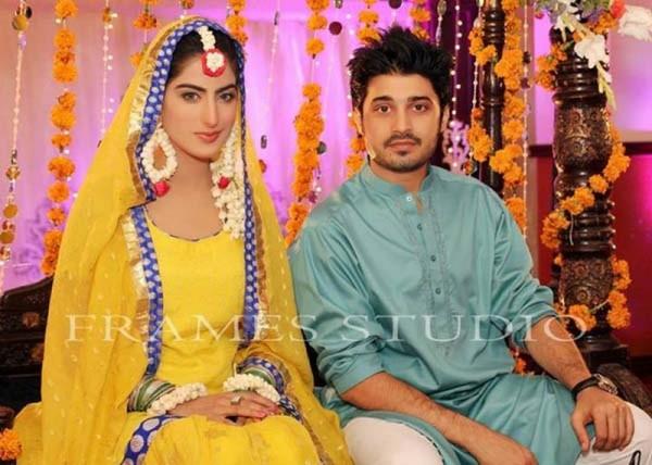 Sana Khan Babar Khan Engagement Pictures