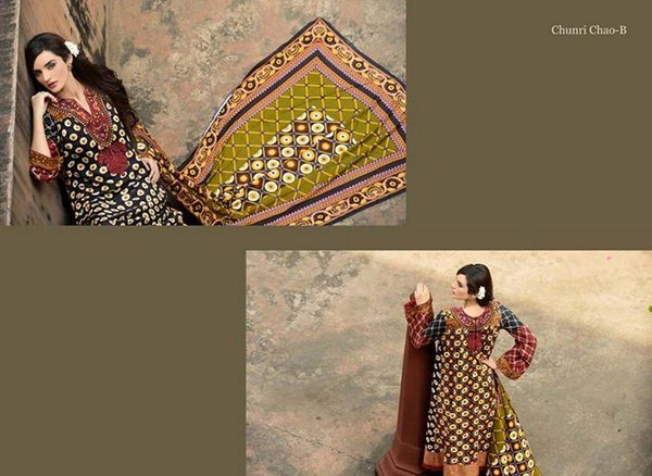 Zubaida Textile Mills Fall Dresses 2013 For Women 001