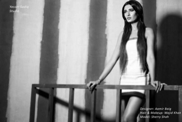 Aamir Baig Western Dresses 2013 For Women 001