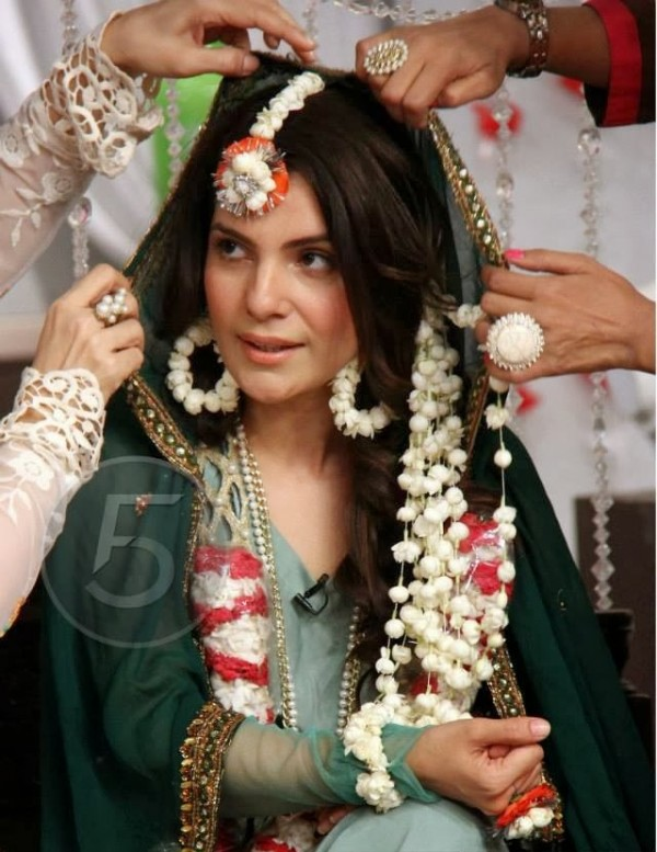 Actress Kiran Khan Wedding Pictures
