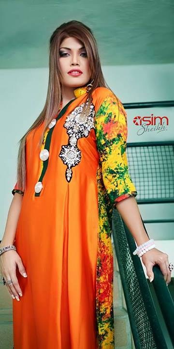 Aneesa Unus Winter Dresses 2013-2014 For Women