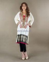 Ayesha F Hashwani Winter Dresses 2013 For Girls 1
