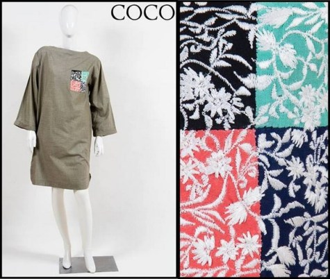 Coco by Zara Shahjahan Winter Dresses 2013-2014 for Women