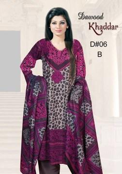 Dawood Textiles Khaddar Dresses 2013 For Women 0014