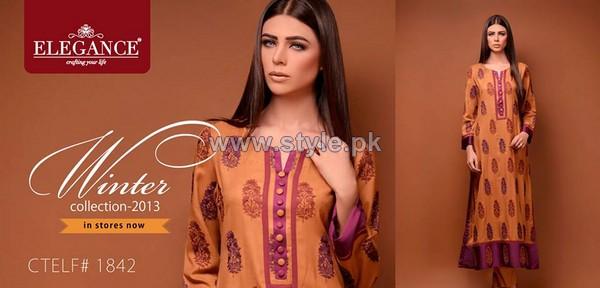 Elegance Winter Long Dresses 2013 For Women6