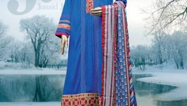 Junaid Jamshed Winter Dresses 2013-2014 for Women